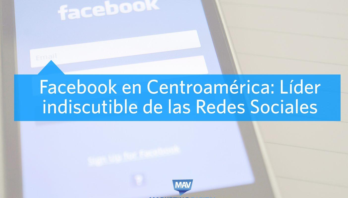 Facebook en Centroamérica Líder