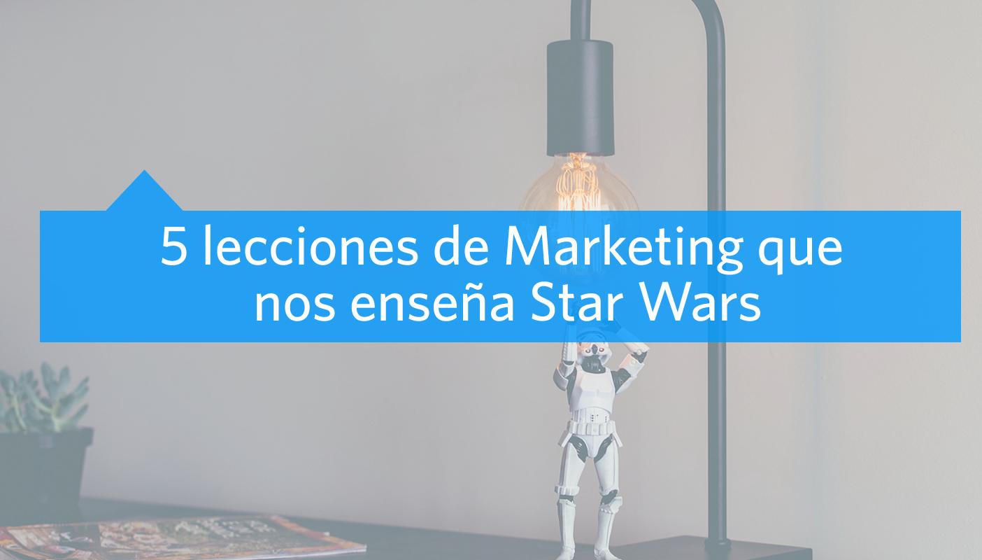 Marketing con Star Wars