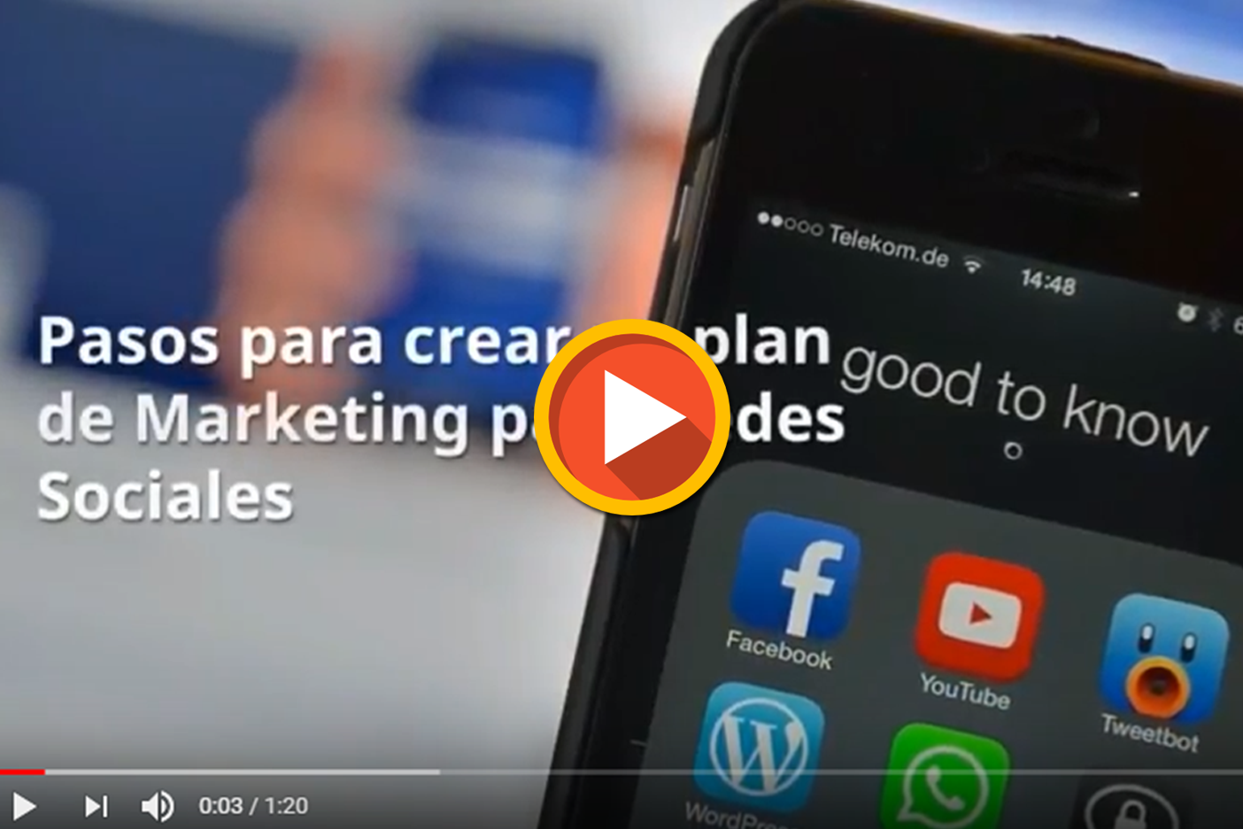 plan de Marketing  para Redes Sociales