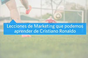 Aprendamos Marketing con Cristiano Ronaldo