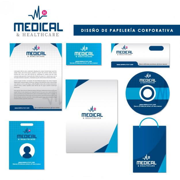 todo médico necesita una buena identidad corporativa
