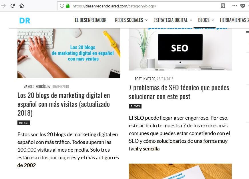 Tipos de contenidos que puedes crear en tu blog