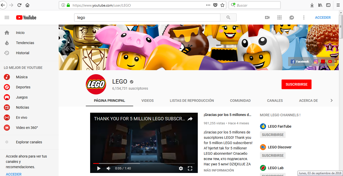 Marketing con Lego