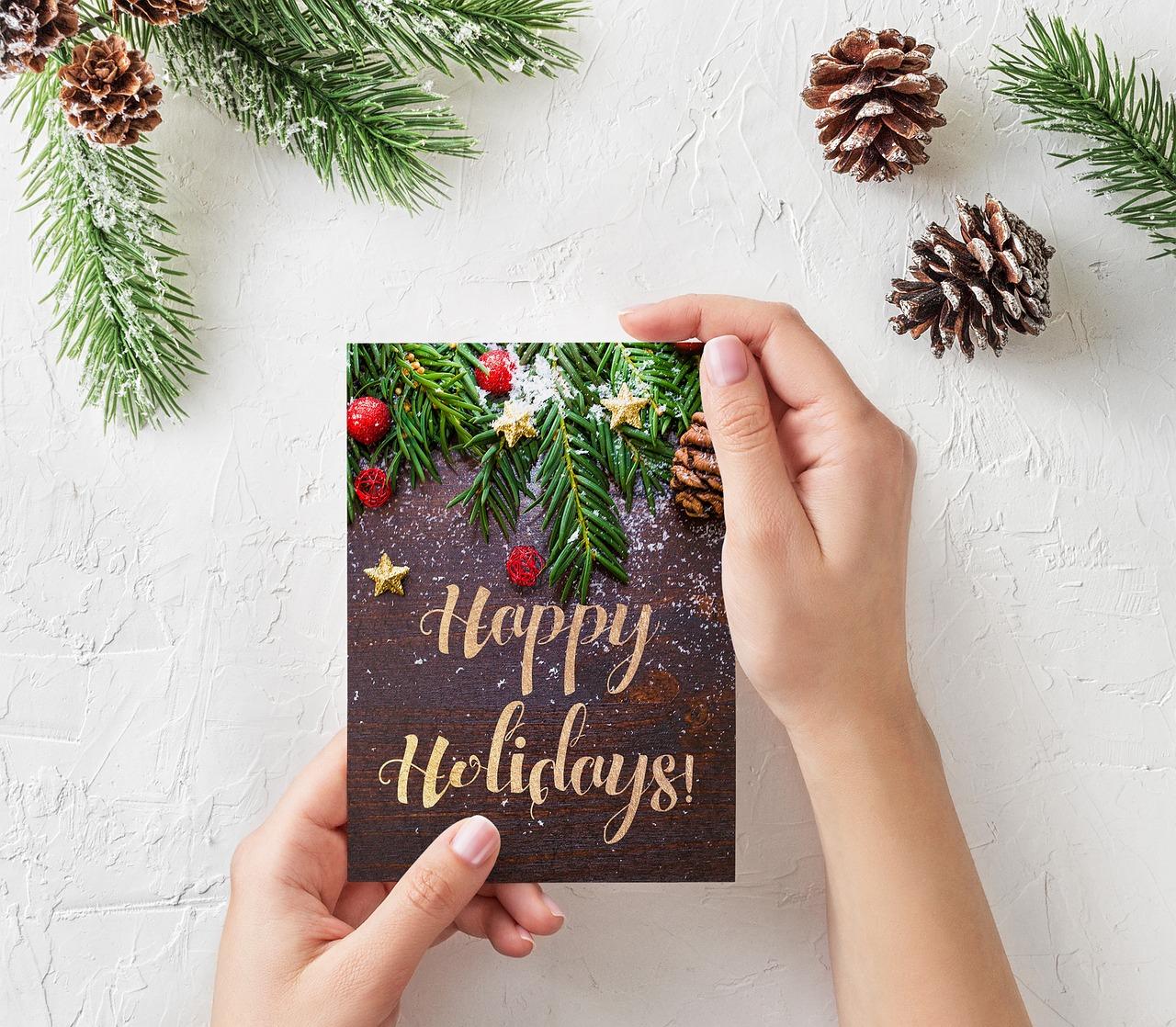 Saludos navidad