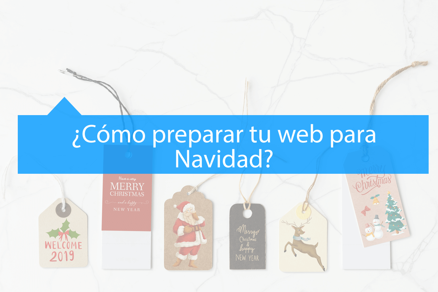 Preparar web para Navidad