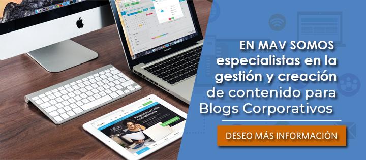 Gestionamos tu blog corporativo